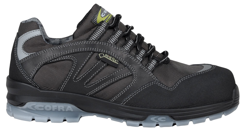 Gore-tex Waterproof: Polka Black S3 WR SRC